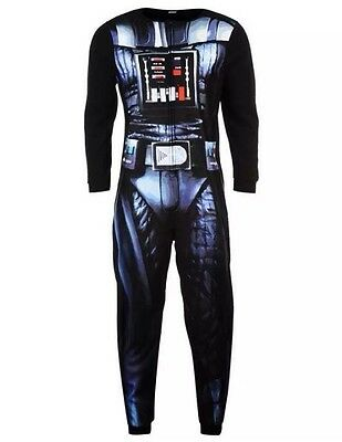 DARTH VADER  / Adult Star Wars Jumpsuit (onsie onesy onesi) S M L XL