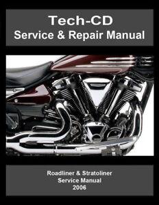 Yamaha Roadliner Service Manual on CD