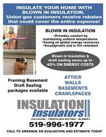 Get your home Insulated with Union Gas rebates