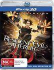 Resident Evil 3D Blu-ray Discs