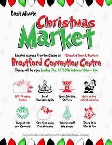 Last Minute Christmas Market (Brantford) - Vendor space avail. Kitchener / Waterloo Kitchener Area image 1