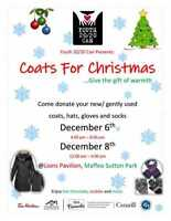 Youth 20/20 Can Coats for Christmas