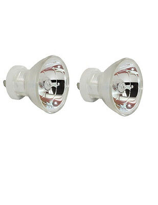 2pcs Curing Dental Bulb 12v 75w 13645 64617 For 3m Acubite Osram Darby Demetron