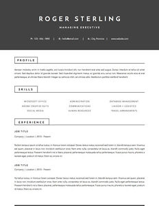 Stop blending in! Designer RESUMES, any budget London Ontario image 2