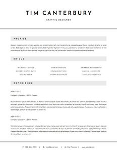 Stop blending in! Designer RESUMES, any budget London Ontario image 3