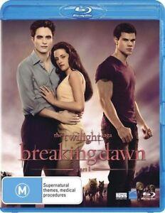 The Twilight Saga: Breaking Dawn - Part 1 NEW B Region Blu Ray