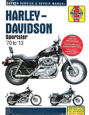 1970-2013 Harley Sportster 883 1000 1100 1200 Repair Service Workshop Manual 266