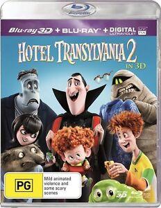 Hotel Transylvania 2 (3D Blu-ray, 2016, 2-Disc Set), NEW SEALED