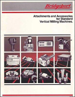 Bridgeport Attachments Accessories Manual 1983