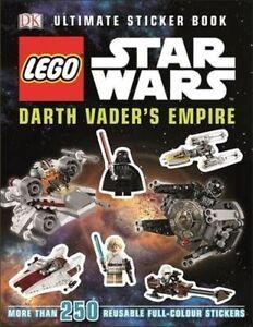 LEGO-R-Star-Wars-TM-Darth-Vader-039-s-Empire-Ultimate-Sticker-Book-by-DK