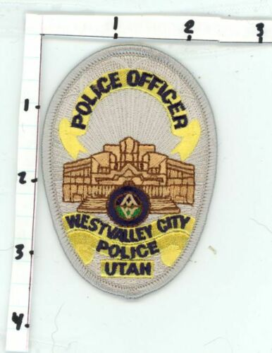 UTAH UT WEST VALLEY CITY POLICE OFFICER NEW PATCH SHERIFF