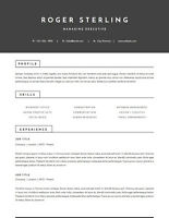Stop blending in! Designer RESUMES, any budget