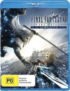 Final Fantasy VII - Advent Children (Blu-ray, 2009) Brand New