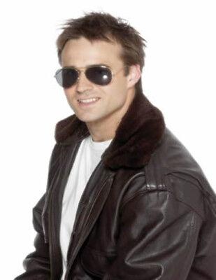 Piloten Top Gun Sonnenbrille Herren Sonnenbrillen Piloten Kostüm Zubehör