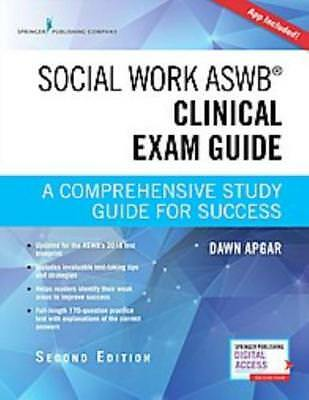 SOCIAL WORK ASWB CLINICAL EXAM GUIDE - APGAR, DAWN, PH.D. - NEW PAPERBACK