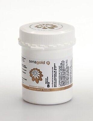 Schuessler Salz Nr. 8 - Natrium chloratum D6 - 1000 Tabletten, glutenfrei