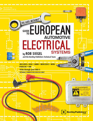 HACK MECHANIC ELECTRICAL EUROPEAN SIEGEL ROB SHOP MANUAL SERVICE REPAIR BOOK VW