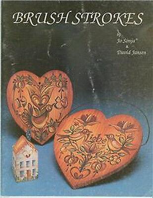 BRUSH STROKES JO SONJA SIGNED! 1989 CRAFT BOOK B5