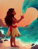 Moana Performer - Once Upon A Princess