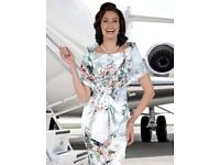 Ian Stuart stunning mother of the bride Enchanted Garden size 14 -16 plus Ellie and Max fasconator