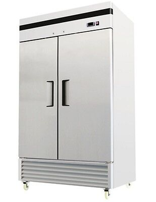 Chefsfirst Solid 2 Door Upright Reach-in Commercial Refrigerator