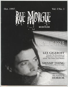 Rue Morgue Magazine issue #1 First Free Issue