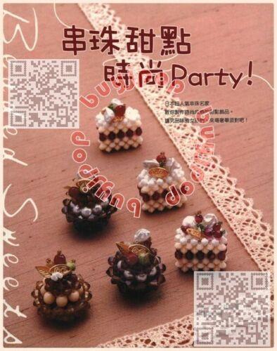TC Out Of Print Japanese Beading Craft Book Bead Cake Sweet Parfait Fruit