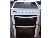 BUSH NEW MODEL 60CM ELECTRIC COOKER, 4 MONTHS WARRANTY, FREE LOCAL DELIVERY