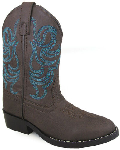 Smoky Mountain Youths Boy Monterey Western Cowboy Boots Embr