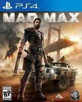 Mad Max PS4 NEW SEALED NEUF SCELLÉ INCLUDES PREORDER BONUSES
