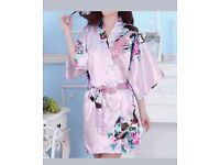 X5 wedding party dressing gowns