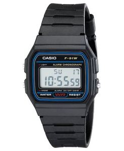 New & Never Worn Casio Men's Classic Black Resin Strap Watch