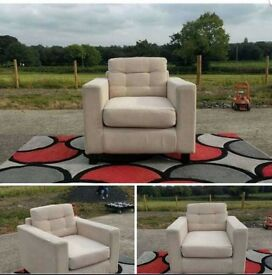 Corner Sofa and Armchair £180