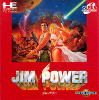 Turbografx-16 Japanese CD games, Jim Power and more