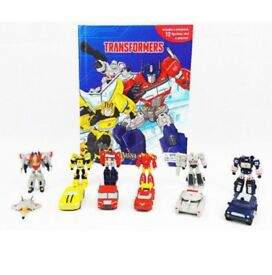 new busy books transformers. book inc 12 figures playmat