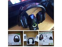 Tritton Warhead 7.1 Dolby Wireless Surround Headset / Headphones XBOX and other Gaming vgc