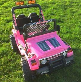 Child's jeep 12v
