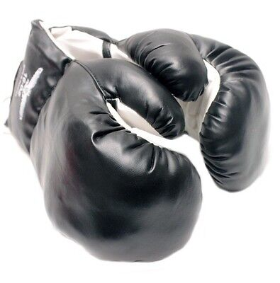 Brand New Black Boxing Punching Gloves for Kids Fitness Training 4 oz