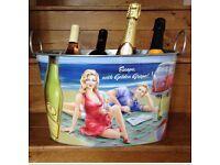 Champagne Bath/ Bucket