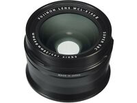 Fujifilm WCL-X100 II Wide Conversion Lens - Black (made for X100F)