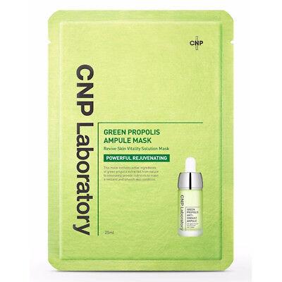 CNP Laboratory Green Propolis Ampule Mask Sheet 25ml X 10ea Set K-BEAUTY