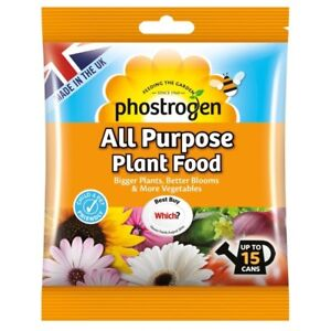 Bayer Phostrogen All Purpose Soluble Fertiliser Plant Feed Food 15 Watering Cans