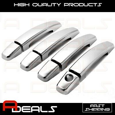 FOR CADILLAC STS 05~07, SRX 04~09, CTS 08~13 CHROME DOOR HANDLE COVER