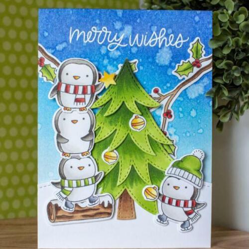 Metal Cutting Die Christmas Crafts DIY Scrapbook Paper Album Embossing Decor