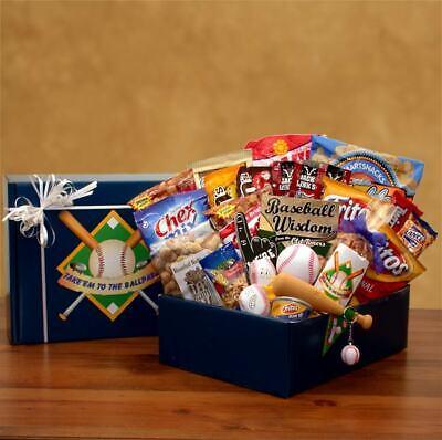 Take Em To The Ballpark Baseball Gift Pack Baseball Gift Baskets
