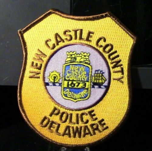 Retired Patch: New Castle County Police, Delaware Patch