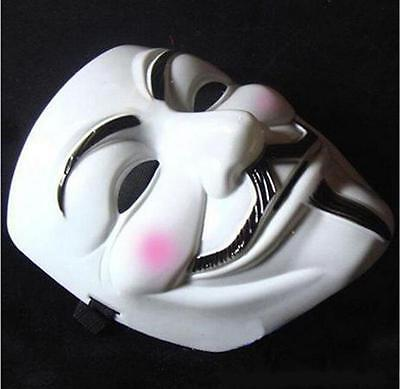Sales V For Vendetta Mask Guy Fawkes Anonymous Halloween Masks Fancy Cosplay - Halloween Mask Vendetta