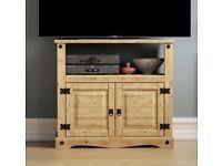 TV Unit solid pine **Brand new & unused**