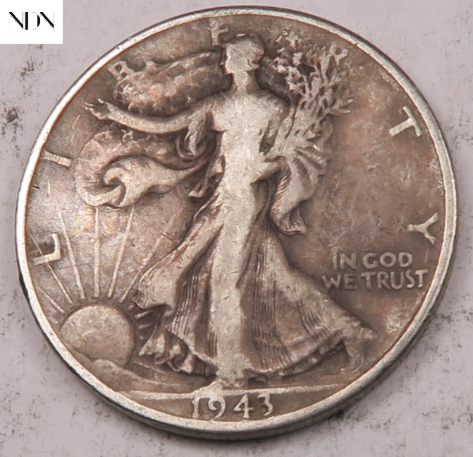 1943 Walking Liberty Half Dollar Entire Series Listed 90 Silver 155 - $0.99