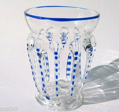 Sammelglas Böhmen   Exklusive hochwertige Handarbeit Glas Replika neu Top